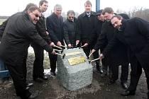 Zahájení stavby silnice I/11 v Hrabyni