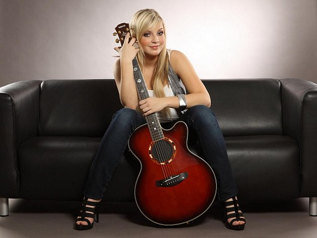 Mladá talentovaná zpěvačka Markéta Konvičková.