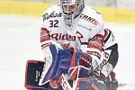 Čtvrtfinále play off hokejové extraligy - 4. zápas: HC Vítkovice Ridera - HC Oceláři Třinec, 25. března 2019 v Ostravě. Na snímku brankář Vítkovic Patrik Bartošák.