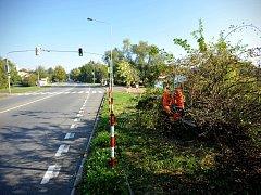 Místo v Ostravě-Pustkovci, kde se nachází nebezpečný přechod, již je přehlednější.