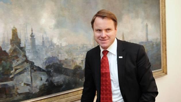 Ministr životního prostředí Martin Bursík