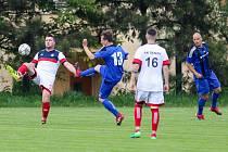 Fotbal, Šenov - Pustá Polom, 1. června 2019 v Šenově.