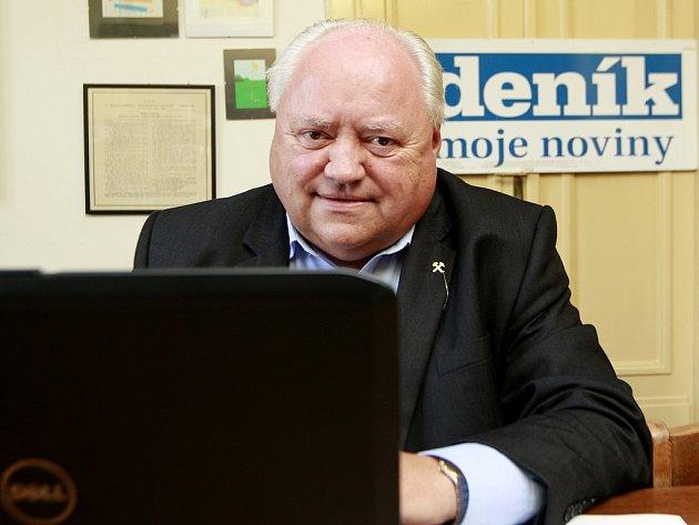 Pavel Bartoš, prezident Sdružení pro rozvoj Moravskoslezského kraje a kandidát na senátora hostem ostravské redakce Deníku.