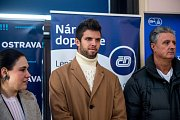 Příjezd českého Davis Cup týmu na nádraží Ostrava-Svinov, 27. ledna 2019 v Ostravě.