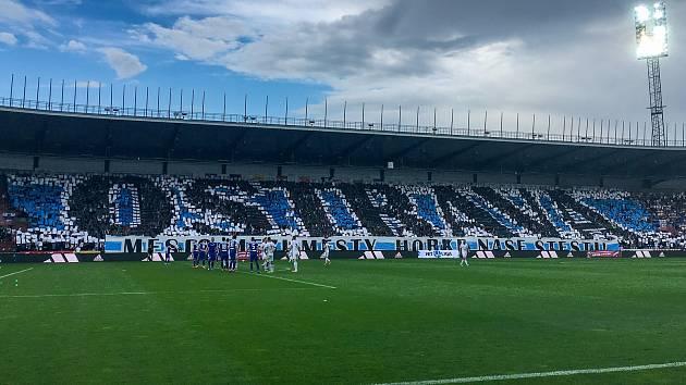 Utkání 28. kolo první fotbalové ligy FC Baník Ostrava - FC Sloban Liberec, 12. května v Ostravě.