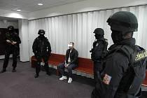 Roman P. z Ostravy, jeden z nejstřeženějších vězňů v České republice.