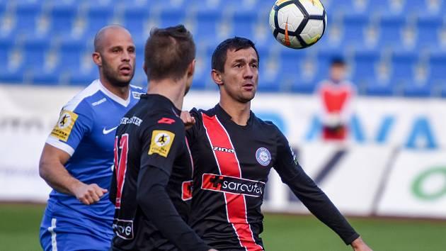 MFK Vítkovice vs. Frýdek-Místek, 27. října 2017 v Ostravě.