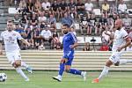 Přípravný zápas FC Baník Ostrava vs. FC Slovácko hraný v Kroměříži 5. července 2017.