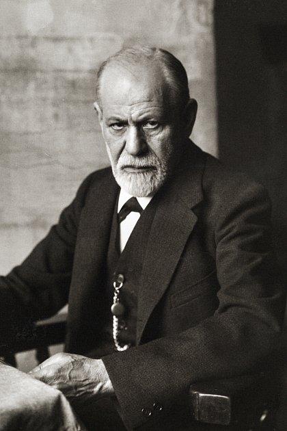 Lékař-neurolog, psycholog a zakladatel psychoanalýzy Sigmund Freud.