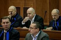 Soud s lobbistou Martinem Dědicem.