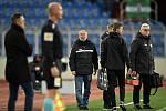 Utkání 22. kola první fotbalové ligy: Baník Ostrava - FK Jablonec, 24. února 2020 v Ostravě. Trenér Jablonce Petr Rada.