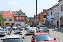 Klimkovické náměstí.