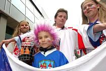 Na vrcholnou akci roku se v Ostravě dostanou i děti. Konkrétně na zápas Norsko - Bělorusko.
