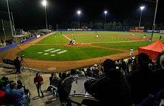 Finále baseballové extraligy v Ostravě. Arrows Ostrava - Draci Brno.