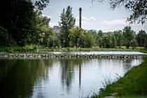 Rybníky v Nové vsi.