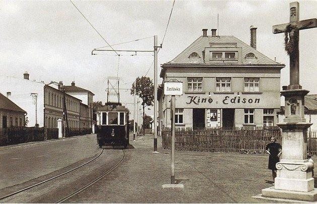 Archivní snímek kina Edison