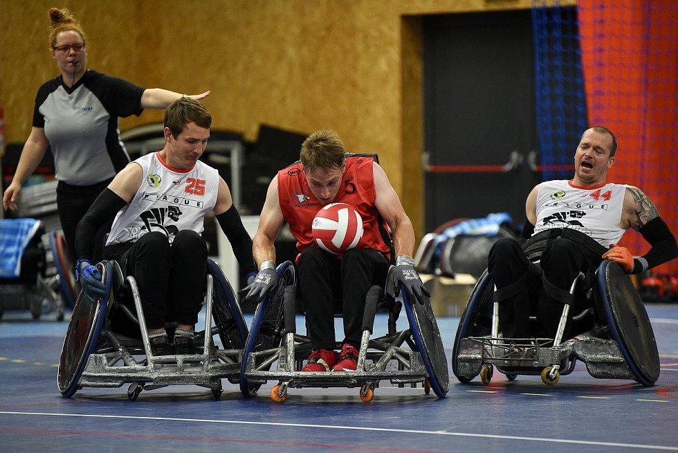 Česká národní liga v rugby vozíčkářů, 11. července 2020 v Bohumíně. Zápas Sitting Eagles - Prague Robots