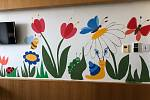 Centrum dětské traumatologie a chirurgie hraje všemi barvami.