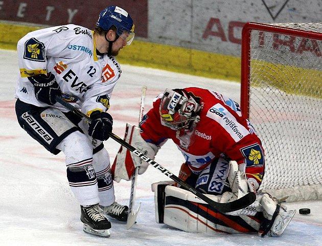 Snímky z utkání HC Vítkovice Steel – HC Eaton Pardubice.