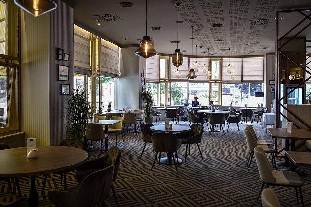 Restaurace La Brasserie - hotel Imperiál vOstravě.