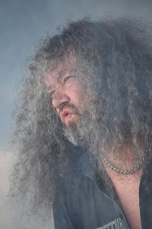 Skupina Limetall. Kytarista Jura Šperl.