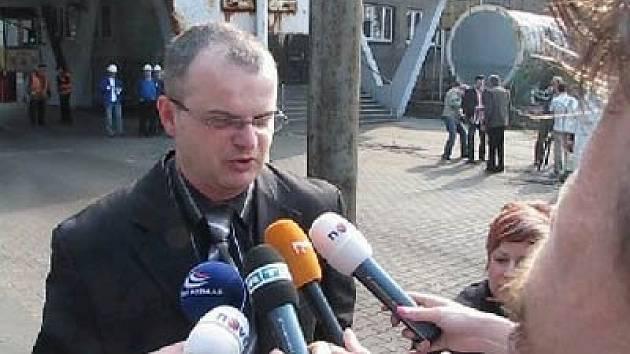 Vladislav Sobol, tiskový mluvčí OKD