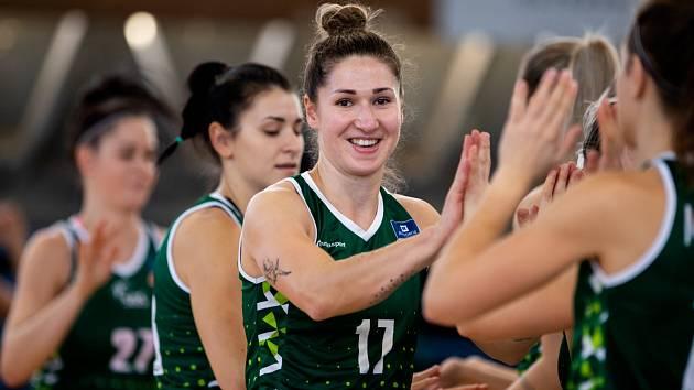 Basketbalistky SBŠ Ostrava v sobotu historicky poprvé porazily brněnské Žabiny a v tomto ročníku ligy se radují ze třetí výhry.
