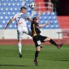 Přípravné utkání, FC Baník Ostrava - 1.SC Znojmo FK, 12. října 2018 v Ostravě.