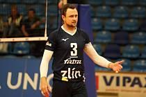 Blokař Michal Čechmánek mění dres. Bývalý kapitán Zlína posílil Black Volley Beskydy.