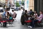 Celé město žije v posledních dnech přípravou na festival Colours of Ostrava. Ani Stodolní ulice není v tomto ohledu výjimkou.