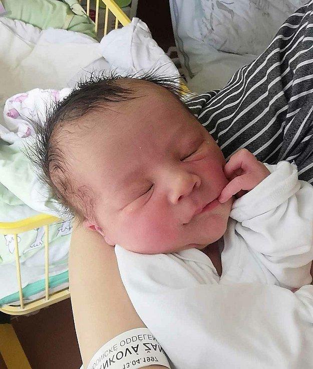 Laura Mažgútová, Oldřišov, narozena 6. dubna 2021 v Opavě, míra 48 cm, váha 3100 g. Foto: Tereza Fridrichová