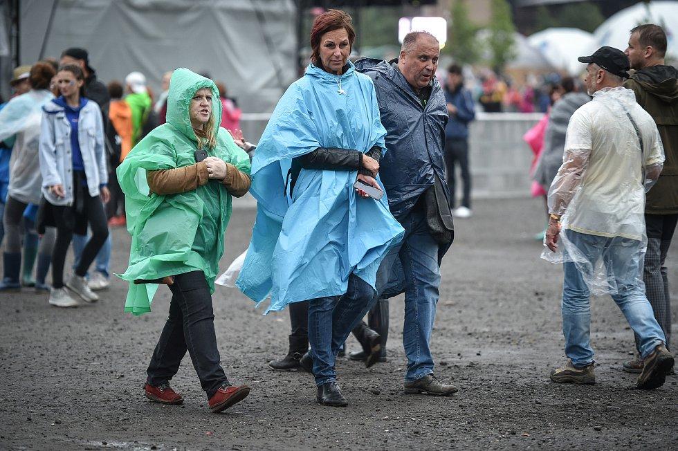 Hudební festival Colours of Ostrava 2018 v Dolní oblasti Vítkovice, 18. července 2018 v Ostravě.