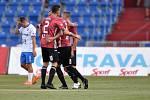 Utkání 2. kola první fotbalové ligy: FC Baník Ostrava - SK Dynamo České Budějovice, 28. srpna 2020 v Ostravě. Radost Budějovic.