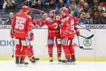 Utkání 34. kola hokejové extraligy: HC Vítkovice Ridera - HC Oceláři Třinec, 12. ledna 2019 v Ostravě. Na snímku Martin Růžička.