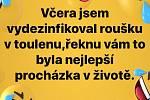 Vtipy od Lenky Č. získané z Facebooku.
