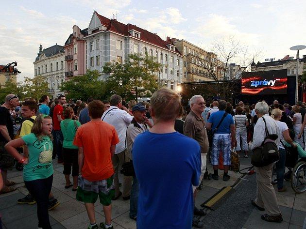 Roadshow televize Prima v Ostravě.