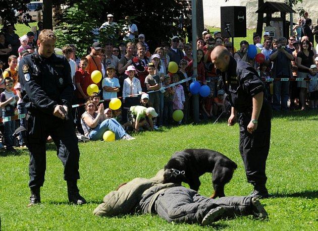 Den policie  na Slezskoostravském hradě