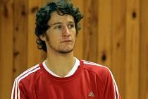 Ostravský volejbalista Richard Mauler.