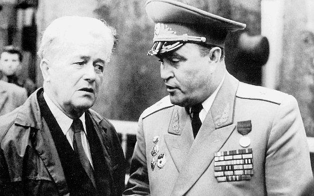 Generálmajor sovětské armády G. P. Jaškin, vsrpnu 1968vojenský velitel Ostravy, měl při obsazování města největší oporu vkolaborujících starých komunistech.