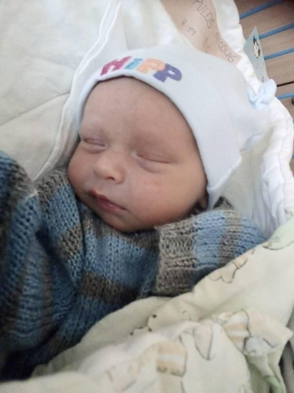 Nicolas Paraskevopulos, Krnov, narozen 3. září 2021 v Krnově, váha 3000 g, míra 50 cm. Foto: Pavla Hrabovská