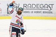 Utkání 30. kola hokejové extraligy: HC Vítkovice Ridera - HC Škoda Plzeň, 28. prosince 2018 v Ostravě. Na snímku Jan Výtisk.