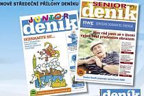 Nenechte si ujít nové středeční přílohy Deníku