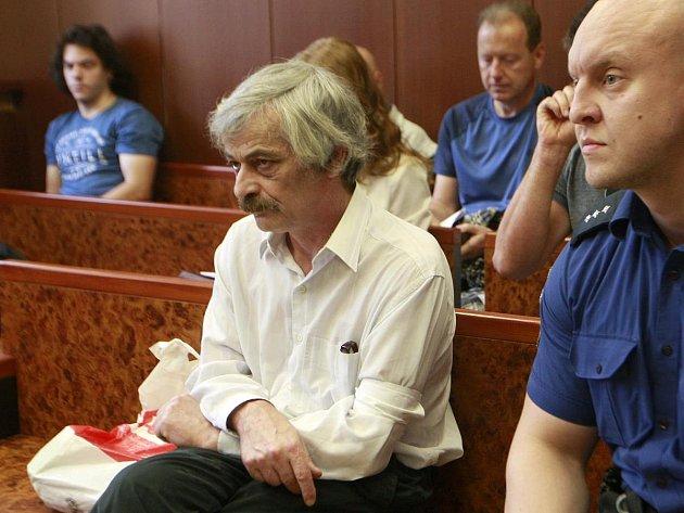 Obžalovaný Jiří Langer.