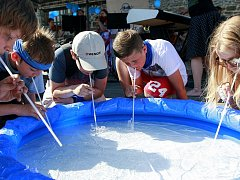 Vzdělávací soutěž Hledej pramen vody připravila vodárenská společnost OVAK.