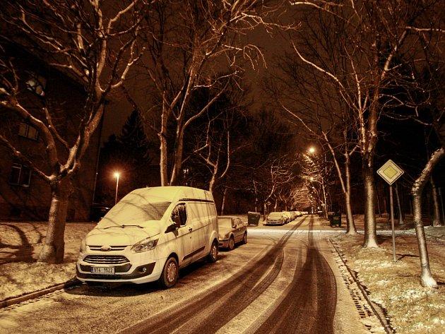 Zima v Ostravě. Ilustrační foto z 1. prosince 2016.