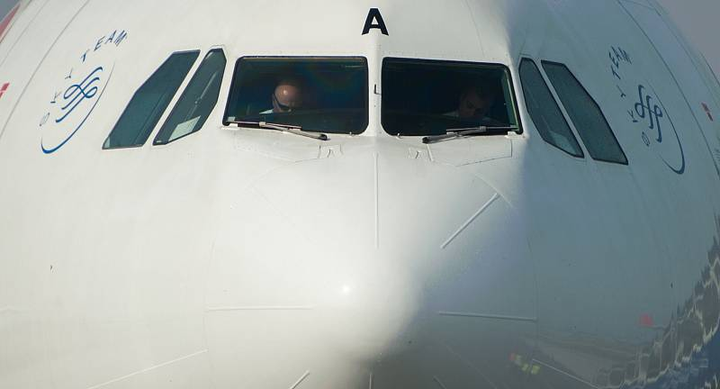 Největší civilní letadlo Airbus A330, zaregistrované pod českou značkou OK, přistálo v Mošnově, aby pomohlo propagovat novinky a změny na pravidelné lince mezi Ostravou a Prahou.