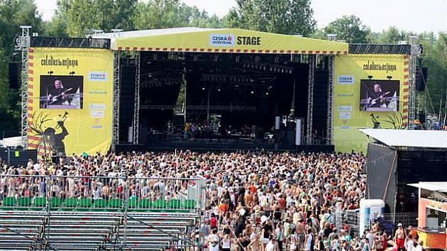 Festival Colours of Ostrava.