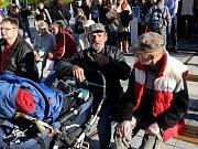 Snímek ze Dnů proti chudobě v Ostravě v roce 2012.