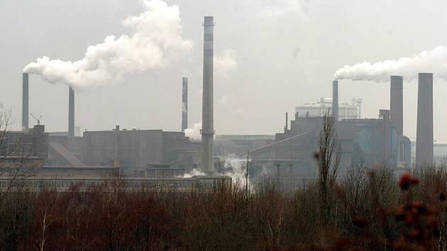 Panorama ArcelorMittalu v Ostravě
