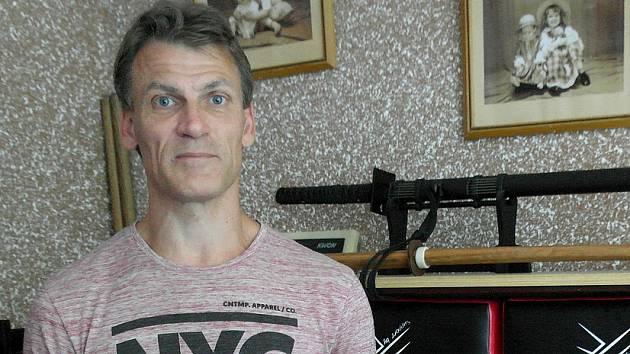 Jedním ze čtyř zachránců tonoucího muže na porubském letním koupališti je Petr Novotný.